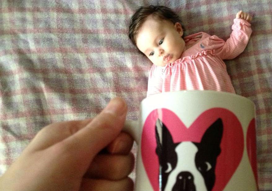 可愛すぎる♡SNSで話題の赤ちゃん写真『ベビーマギング』